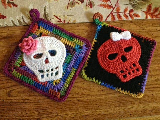 Lovely Fiddlesticks My Crochet and Knitting Ramblings Crochet Sugar Skull Of Incredible 47 Pictures Crochet Sugar Skull