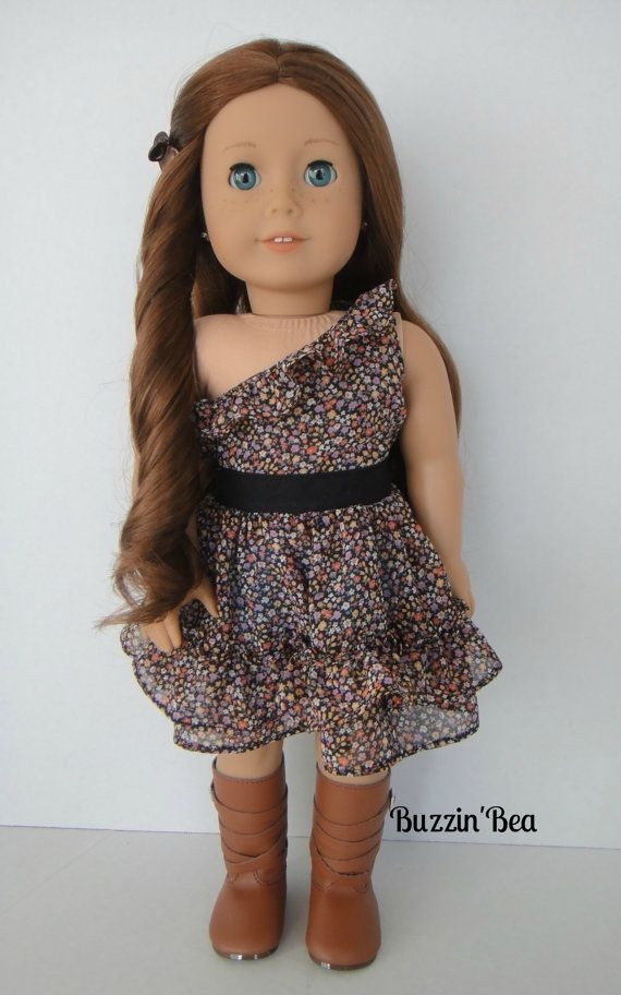 Lovely Floral Chiffon Dress American Girl Doll Clothes American Doll Dresses Of Great 47 Images American Doll Dresses