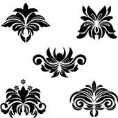 floral patterns stock photos freeimages