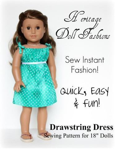 Lovely Free 18 Inch Doll Clothes Patterns and Tutorials American Girl Doll Dress Patterns Of Incredible 48 Models American Girl Doll Dress Patterns