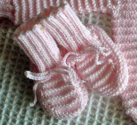 Free Baby Booties Knitting Patterns To Download