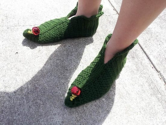 Lovely Free Crochet Christmas Slippers You Ll Love these Ideas Crochet Elf Slippers Of Luxury 41 Pictures Crochet Elf Slippers