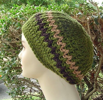 FREE CROCHET DREADLOCK HIPPY HAT PATTERN