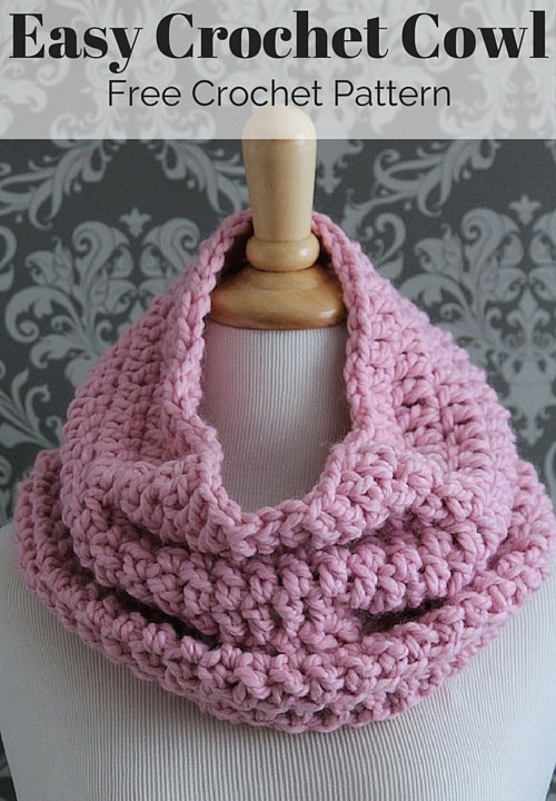 Lovely Free Crochet Infinity Scarf Pattern Infinity Cowl Crochet Pattern Of Awesome 49 Pics Infinity Cowl Crochet Pattern