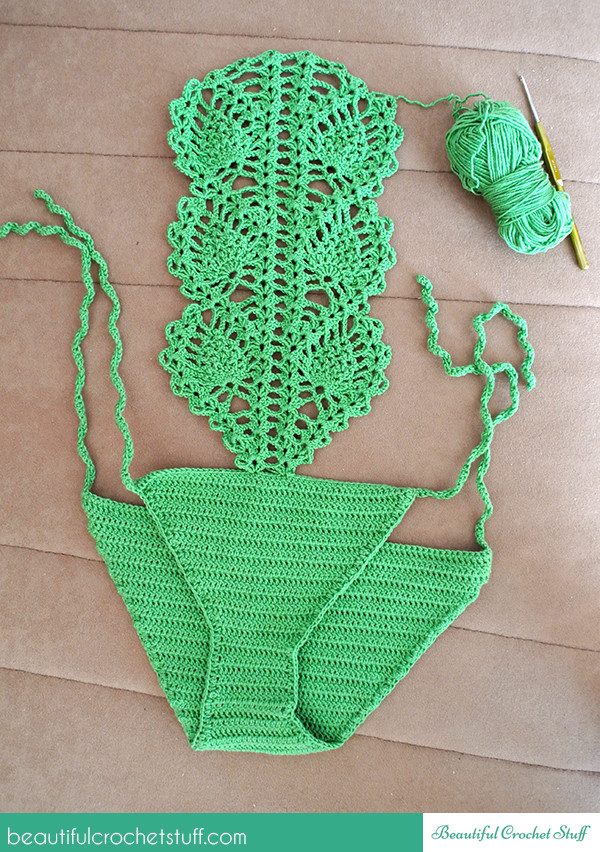 Free Crochet Pattern For Bathing Suit Dancox for