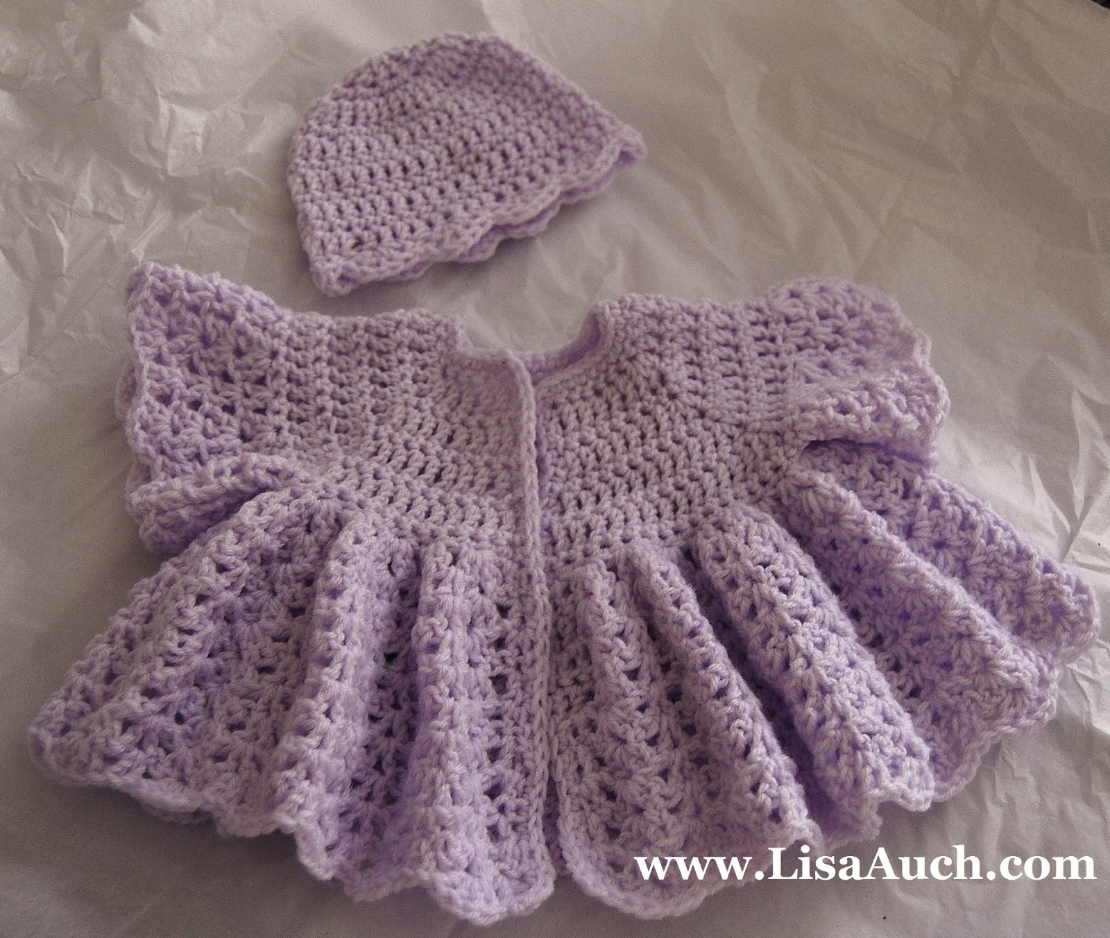 Lovely Free Crochet Patterns and Designs by Lisaauch April 2013 Crochet Baby Sweater Sets Of Charming 43 Photos Crochet Baby Sweater Sets