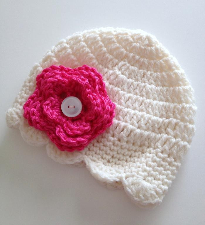 Lovely Free Crochet Patterns for Baby Hats with Flowers Crochet Flowers for Hats Free Patterns Of Contemporary 43 Pics Crochet Flowers for Hats Free Patterns