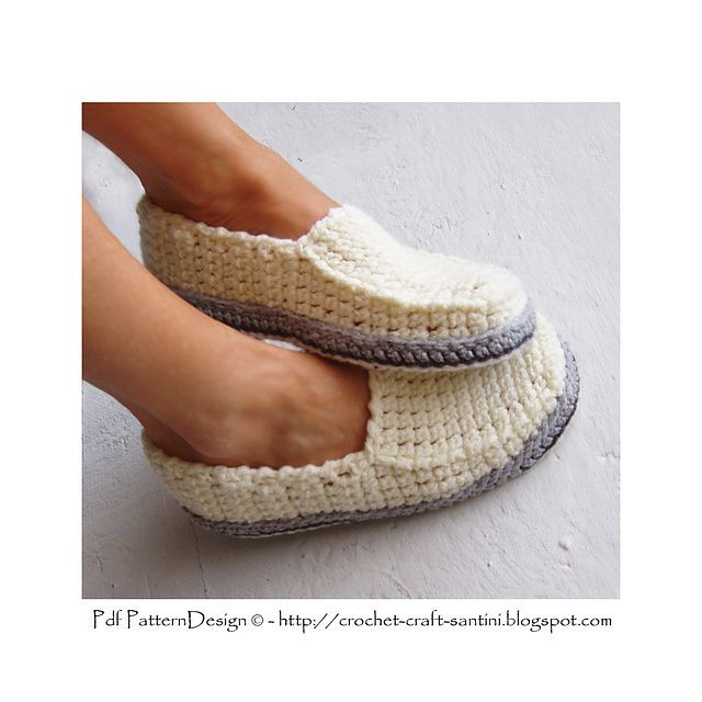 Lovely Free Crochet Patterns for Slippers with Leather soles Crochet Slippers with soles Of New 43 Photos Crochet Slippers with soles