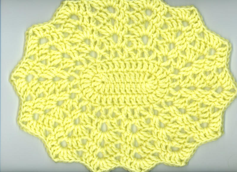 Lovely Free Crochet Patterns Oval Placemats Pakbit for Free Crochet Placemat Patterns Of Lovely 40 Pics Free Crochet Placemat Patterns