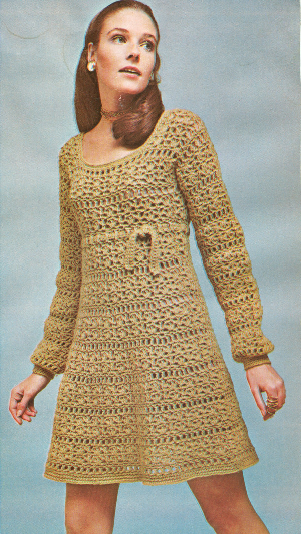 Lovely Free Crochet Patterns Vintage Dress Crochet and Knitting Crochet Dress Of Awesome 50 Pictures Crochet Dress