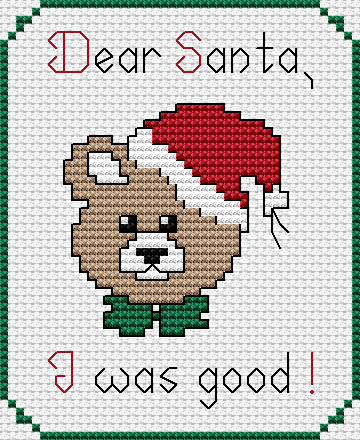 "Lovely Free Cross Stitch Patterns ""a Letter to Santa "" Free Christmas Cross Stitch Patterns Of Charming 48 Pics Christmas Cross Stitch Patterns"