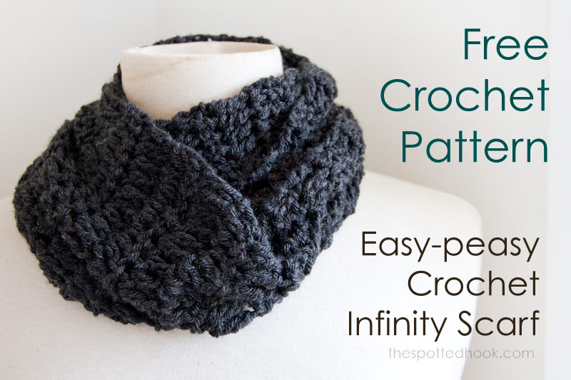 Lovely Free Easy Infinity Scarf Crochet Pattern Easy Crochet Scarf Patterns Free Of Lovely 49 Images Easy Crochet Scarf Patterns Free