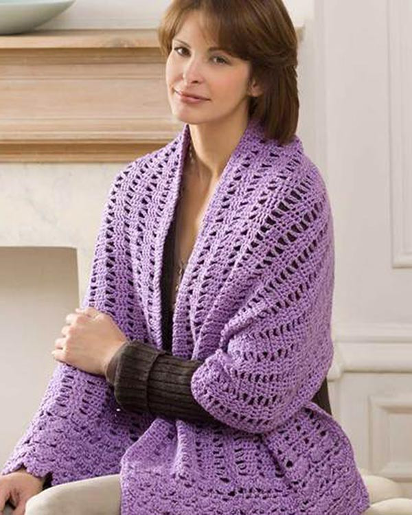 Lovely Free Friendship Shawl Crochet Pattern From Redheart Crochet Shawl Patterns and Wraps Of Amazing 43 Images Crochet Shawl Patterns and Wraps