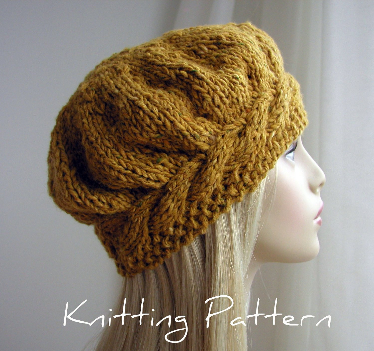 Lovely Free Knitted Beret Patterns Easy Knit Hat Pattern Free Of Top 45 Pictures Easy Knit Hat Pattern Free