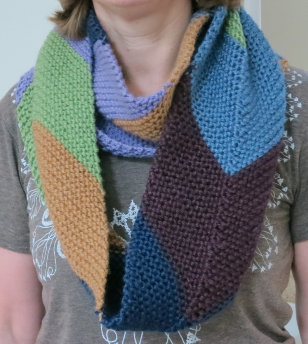 "Lovely Free Knitting Pattern Easy ""this Way Up"" Chevron Cowl Easy Crochet Cowl Pattern Of Fresh 48 Models Easy Crochet Cowl Pattern"