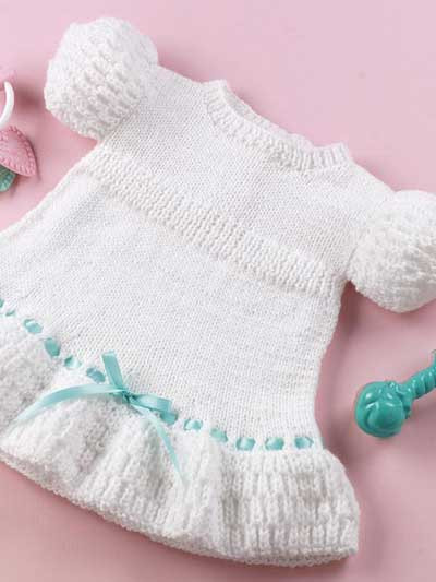 Lovely Free Knitting Pattern Free Baby Girl Clothes Models 2012 Baby Dress Knitting Pattern Of Amazing 40 Models Baby Dress Knitting Pattern