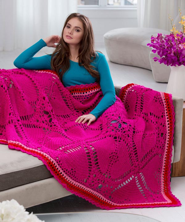 Lovely Free Love My Valentine Throw Crochet Pattern From Redheart Red Heart Free Crochet Afghan Patterns Of Great 49 Ideas Red Heart Free Crochet Afghan Patterns