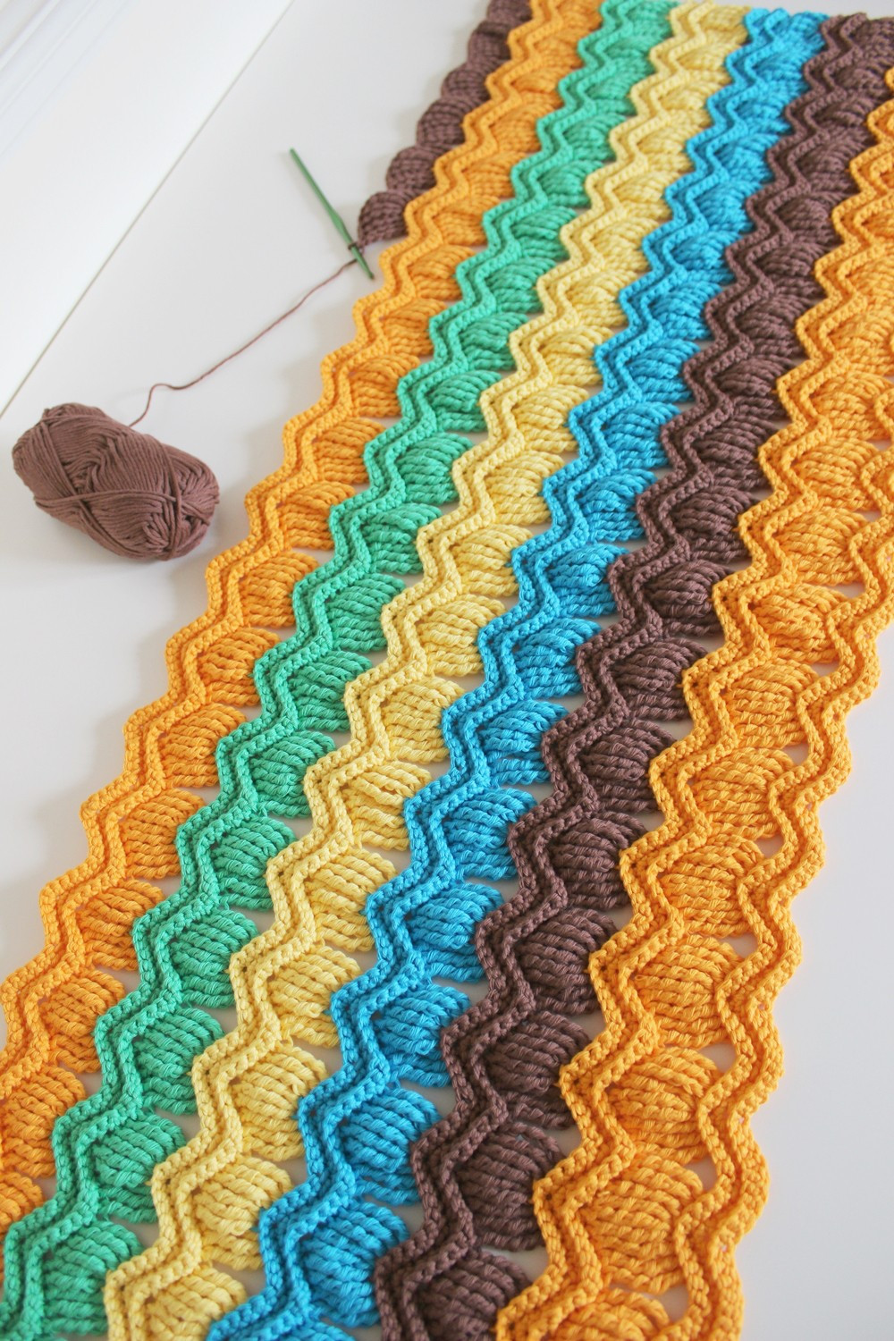 Lovely [free Pattern] Crochet Vintage Fan Ripple Stitch Vintage Crochet Of Perfect 44 Models Vintage Crochet