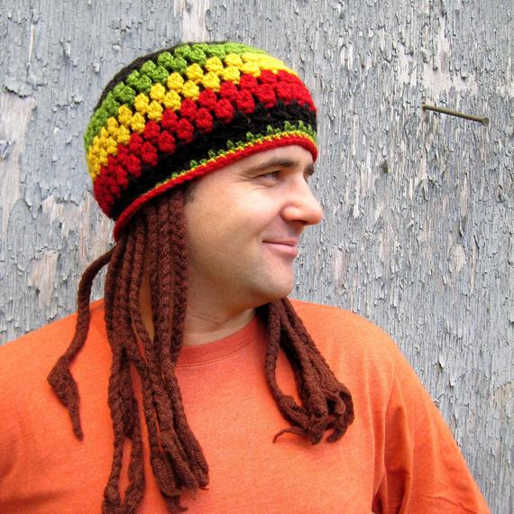 Lovely Free Pattern Jamaican Hat with Fake Dreadlocks Crochet Pattern Rasta Hat with Dreads Of New 32 Photos Rasta Hat with Dreads