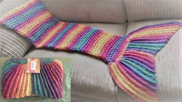 Lovely Free Pattern – Rainbow Mermaid Tail – Crochet Mermaid Tail Knitting Pattern Of Awesome 40 Pictures Mermaid Tail Knitting Pattern