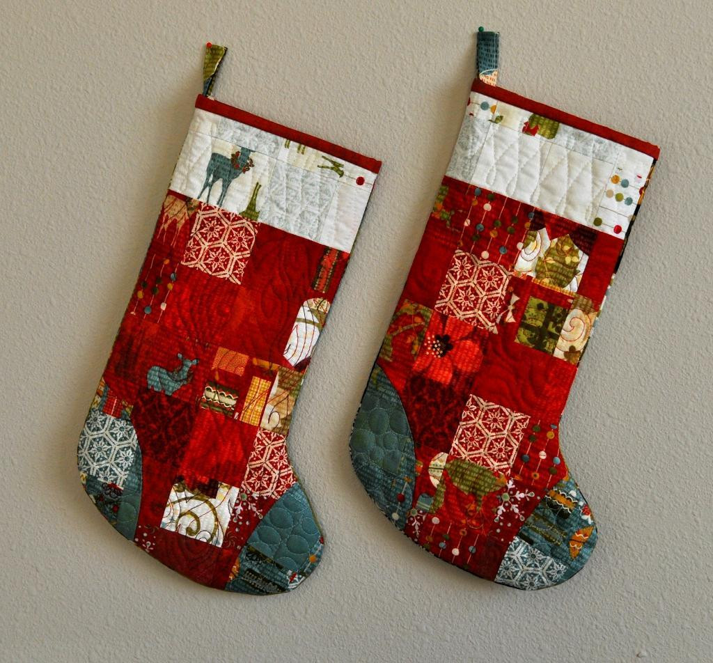 Lovely Free Quilt Pattern Scrappy Stocking Pattern Christmas Stocking Sewing Pattern Of Marvelous 44 Models Christmas Stocking Sewing Pattern