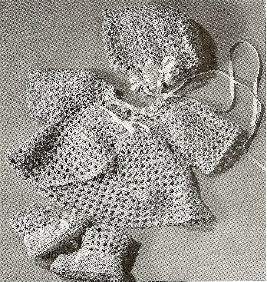 Lovely Free Vintage Crochet Baby Bonnet Pattern Vintage Crochet Of Perfect 44 Models Vintage Crochet