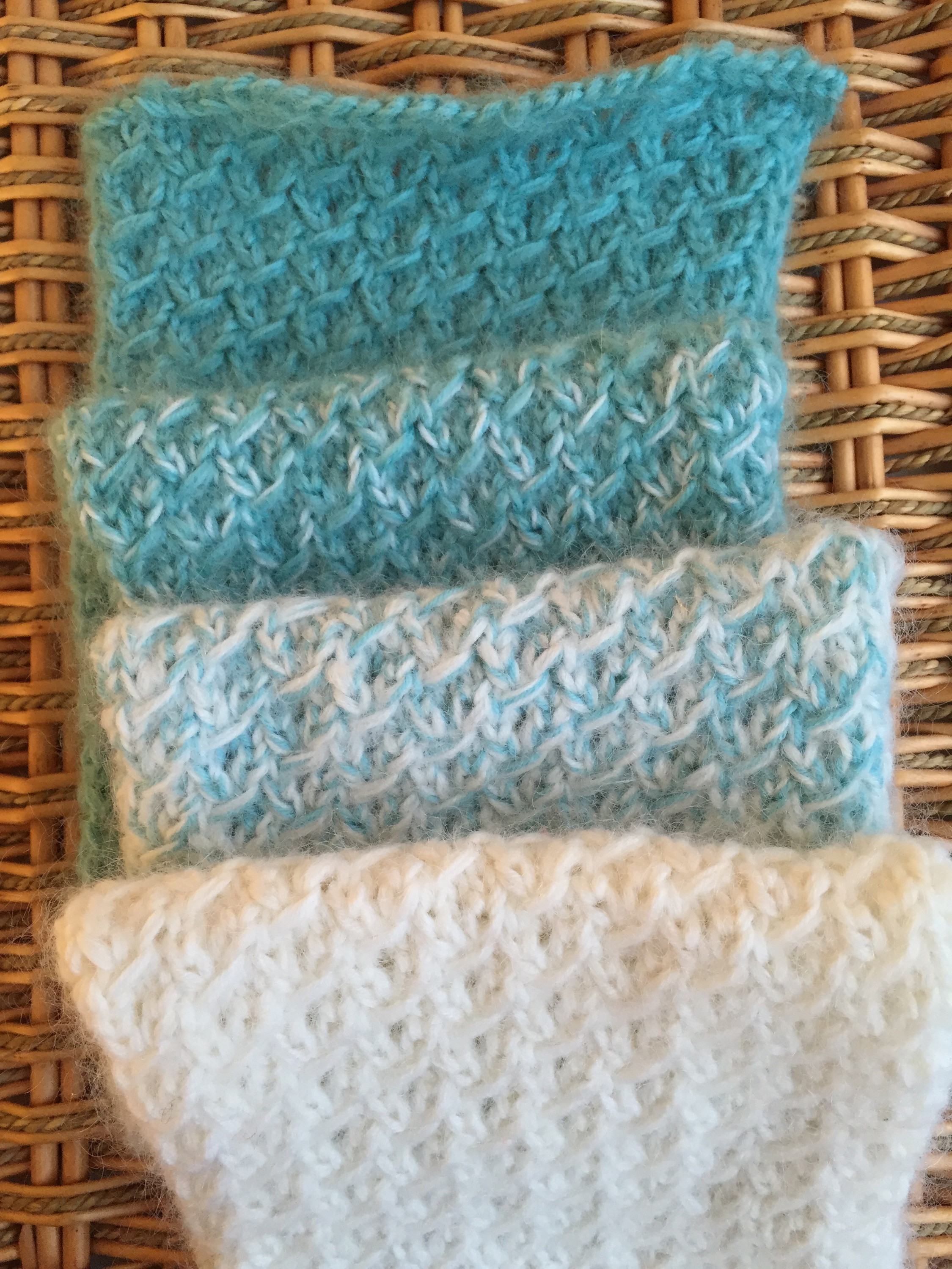 Lovely Fuzzy Ombre Scarflet — A Free Knitting Pattern Easy Knit Scarf Pattern Free Of Top 44 Photos Easy Knit Scarf Pattern Free