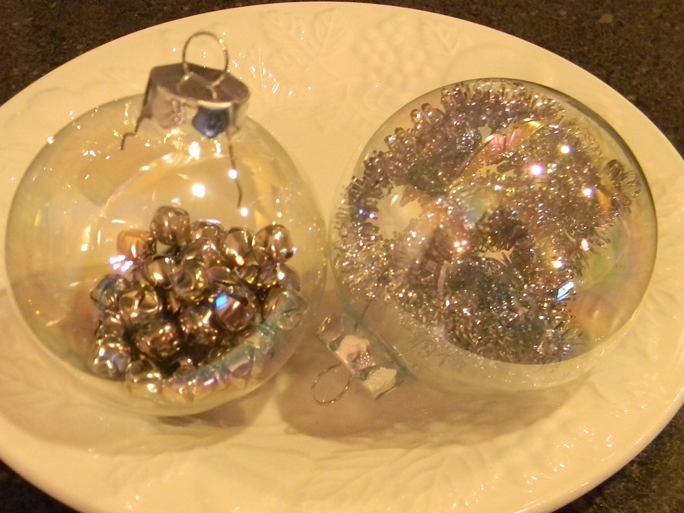 Glass Ball Ornaments Organize and Decorate Everything