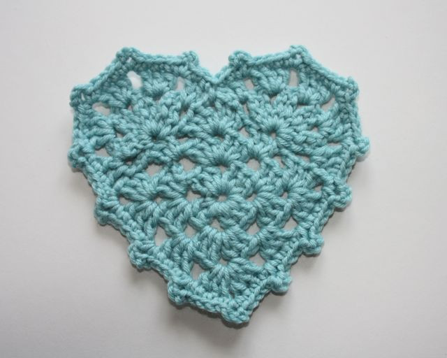 Lovely Granny Heart Bunting Heart Granny Square Of Brilliant 41 Pictures Heart Granny Square