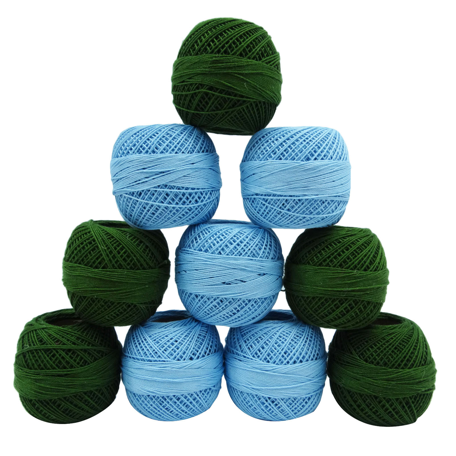 Lovely Green Cotton Mercerized Crochet Embroidery Knitting Skein Crochet Cotton Thread Of New 50 Pics Crochet Cotton Thread