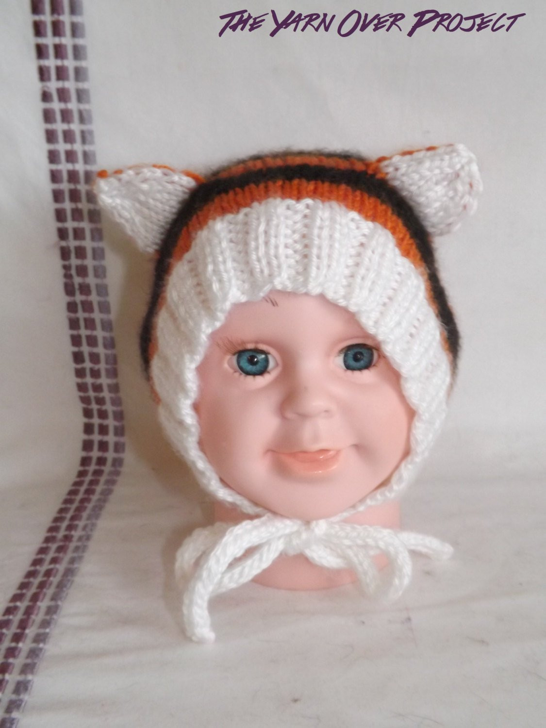 Lovely Hand Knit Tiger Baby Hat Knitted Tiger Bonnet Bonnet Hat Knitted Baby Bonnet Of Top 47 Pics Knitted Baby Bonnet