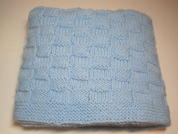 Lovely Hand Knitted Basket Weave Baby Boy Baby Girl Baby Blanket Basket Weave Knitting Pattern Baby Blanket Of Marvelous 46 Pics Basket Weave Knitting Pattern Baby Blanket