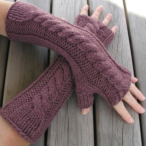 Lovely Hand Knitted Fingerless Gloves Arm Warmers Folksy Knit Arm Warmers Of Brilliant 41 Images Knit Arm Warmers
