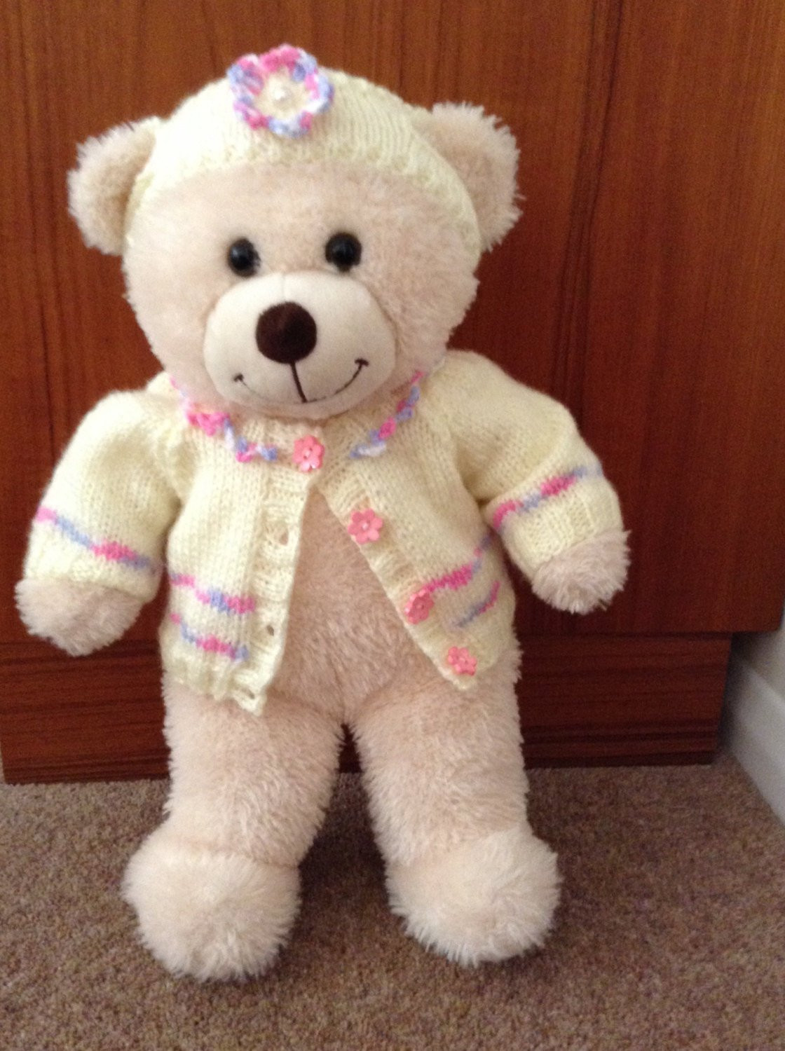 Lovely Hand Knitted Teddy Bear Clothes to Fit A 16 Build A Bear Knitted Teddy Bear Of Amazing 45 Ideas Knitted Teddy Bear