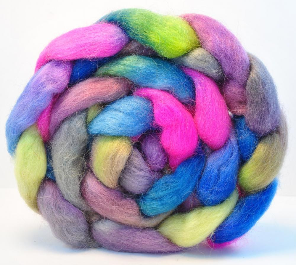 Lovely Hand Painted Wool Roving Wensleydale Bed top Spinning Wool Roving Yarn Of Awesome 40 Pictures Wool Roving Yarn
