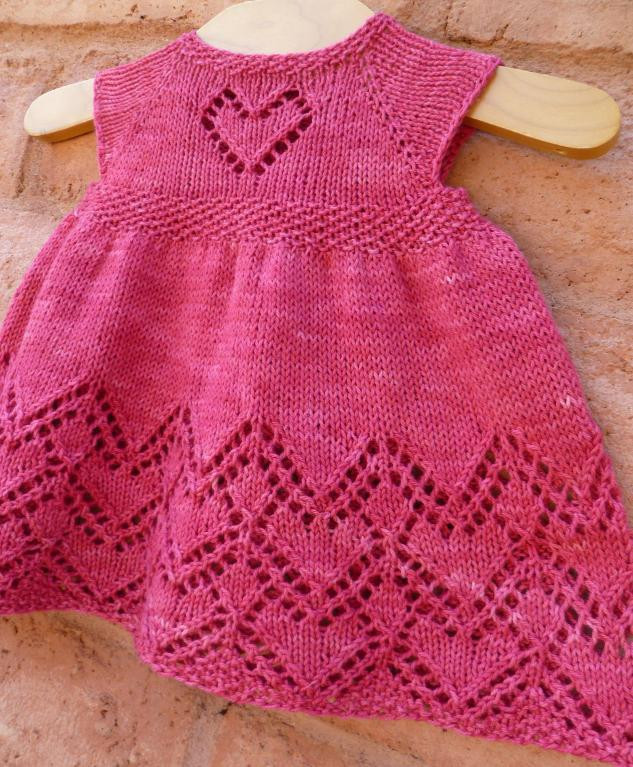 Lovely Helen Joyce Baby Dress by Taiga Hilliard Baby Dress Knitting Pattern Of Amazing 40 Models Baby Dress Knitting Pattern