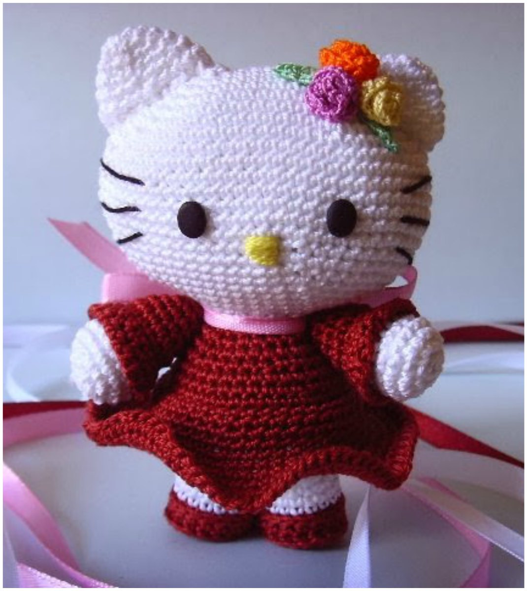Lovely Hello Kitty [free Crochet Pattern] Hello Kitty Crochet Pattern Of Luxury 47 Images Hello Kitty Crochet Pattern