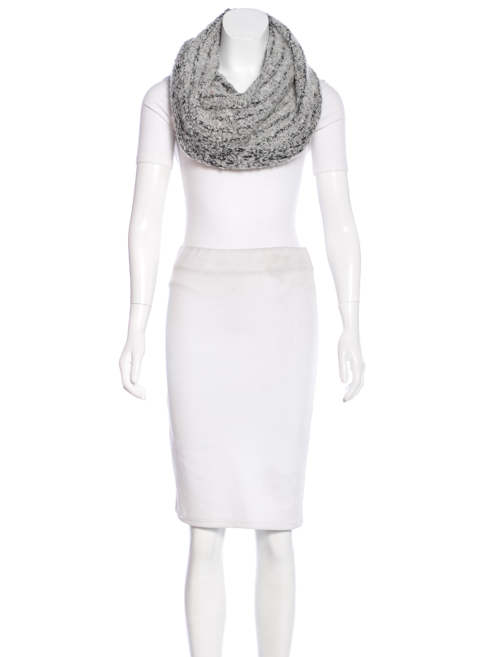 Lovely Helmut Lang Knit Circle Scarf Accessories Whelm Knit Circle Scarf Of Brilliant 47 Photos Knit Circle Scarf