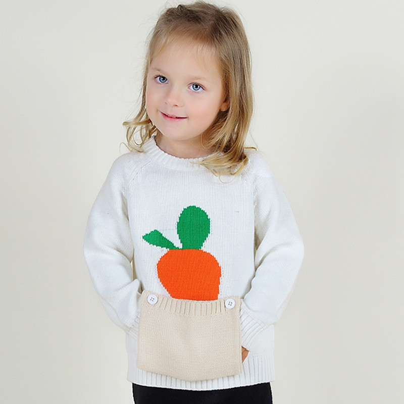 Lovely High Quality Cute Carrot Baby Sweaters Cotton Knitting toddler Knit Sweater Of Incredible 43 Pics toddler Knit Sweater