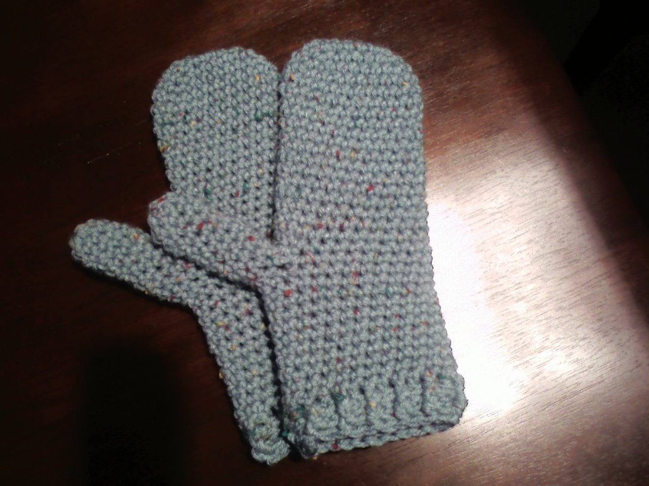 Hodge Podge Mittens Pattern