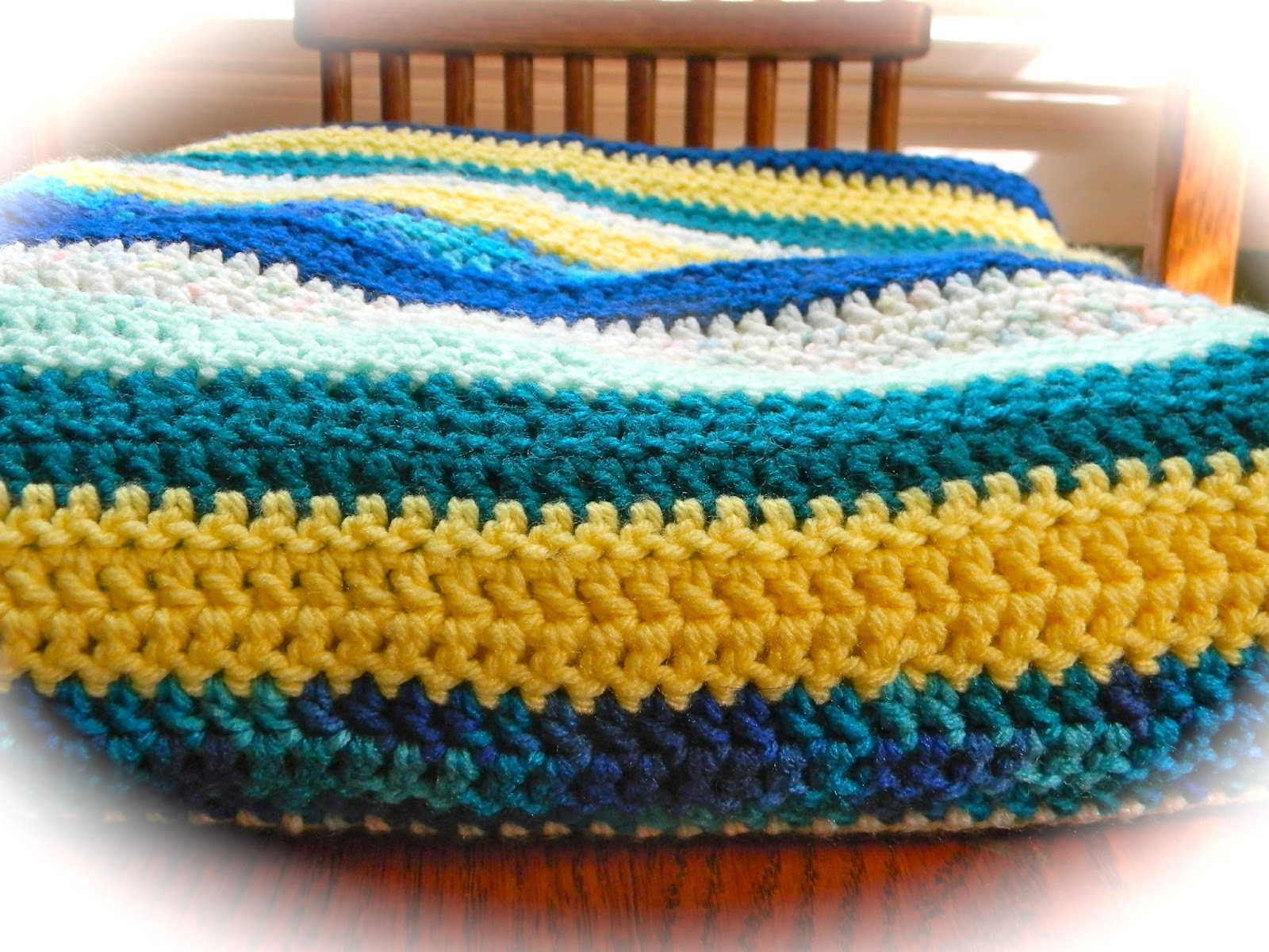 Lovely Home Cooked & Handmade Striped Double Crochet Blanket Double Stitch Crochet Blanket Of Awesome 49 Models Double Stitch Crochet Blanket