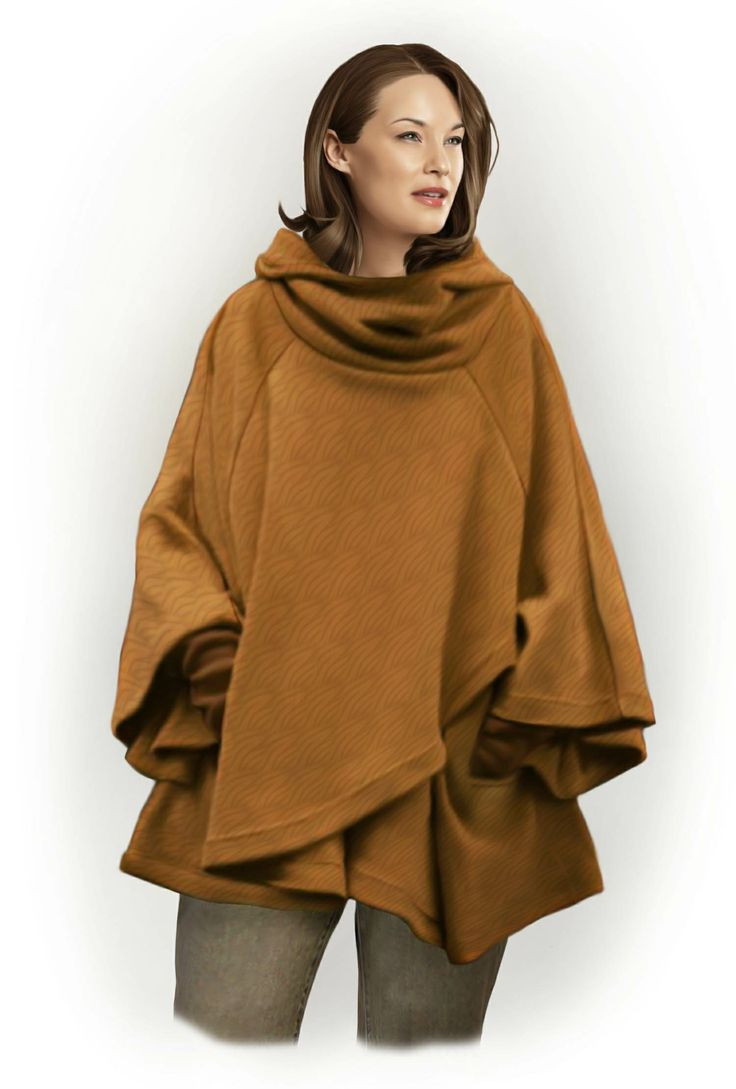 Lovely Hooded Poncho Pattern Sew Images Ponchos Hooded Cape Pattern Of Great 42 Pictures Hooded Cape Pattern