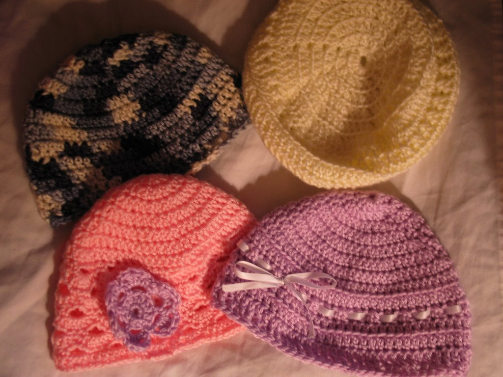 Hooked on Crochet new cap designs