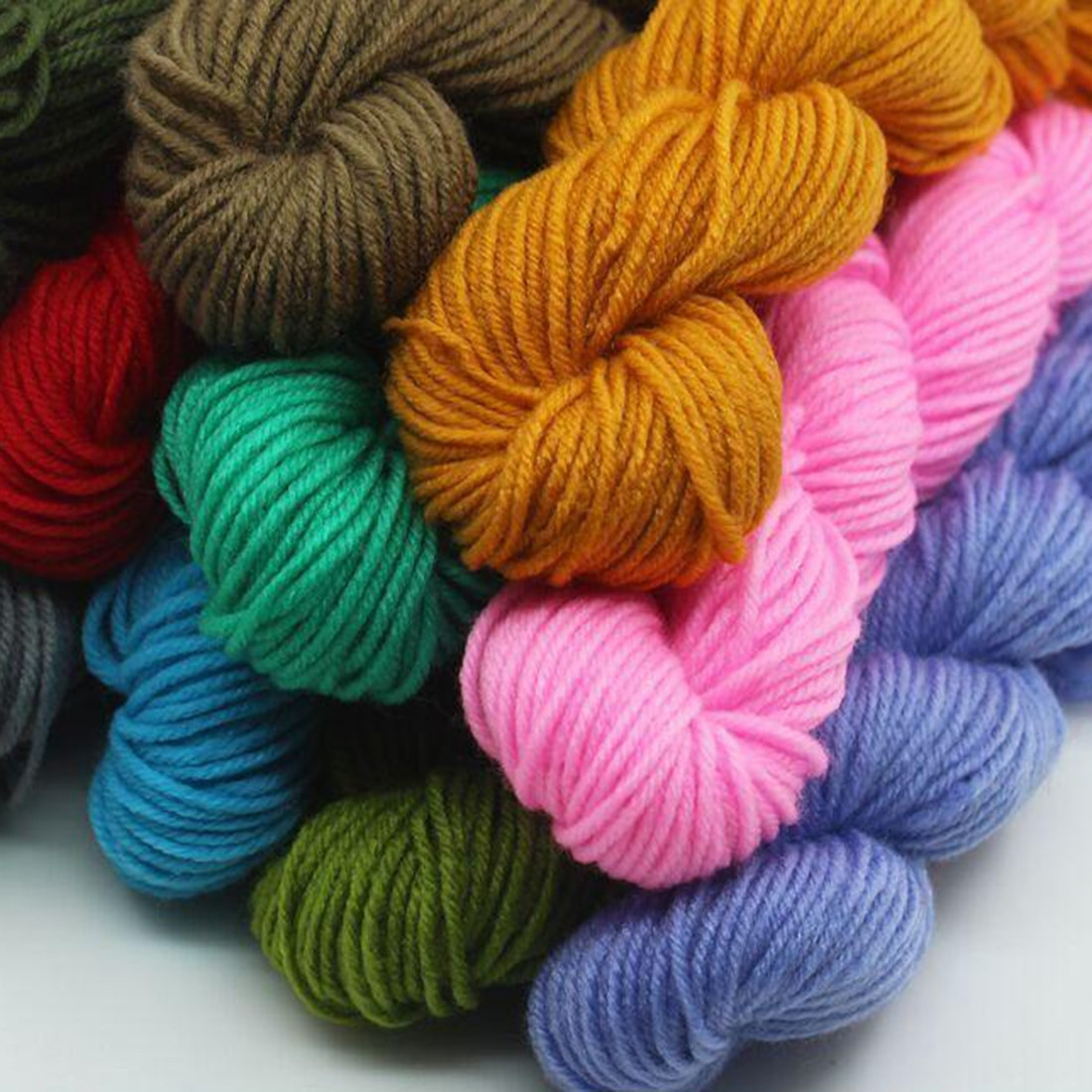 Hot Sale Soft Polyester for Knitting Baby Knitting Wool