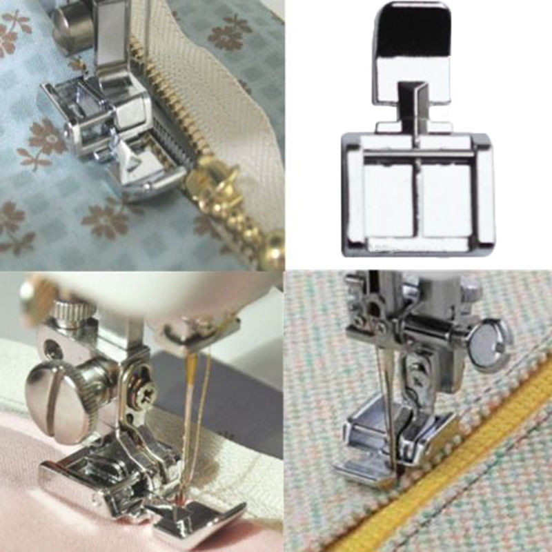 Lovely Hot Zipper Foot 2 Sides for Sewing Machine Brother Janome Singer Zipper Foot Of Perfect 49 Images Singer Zipper Foot