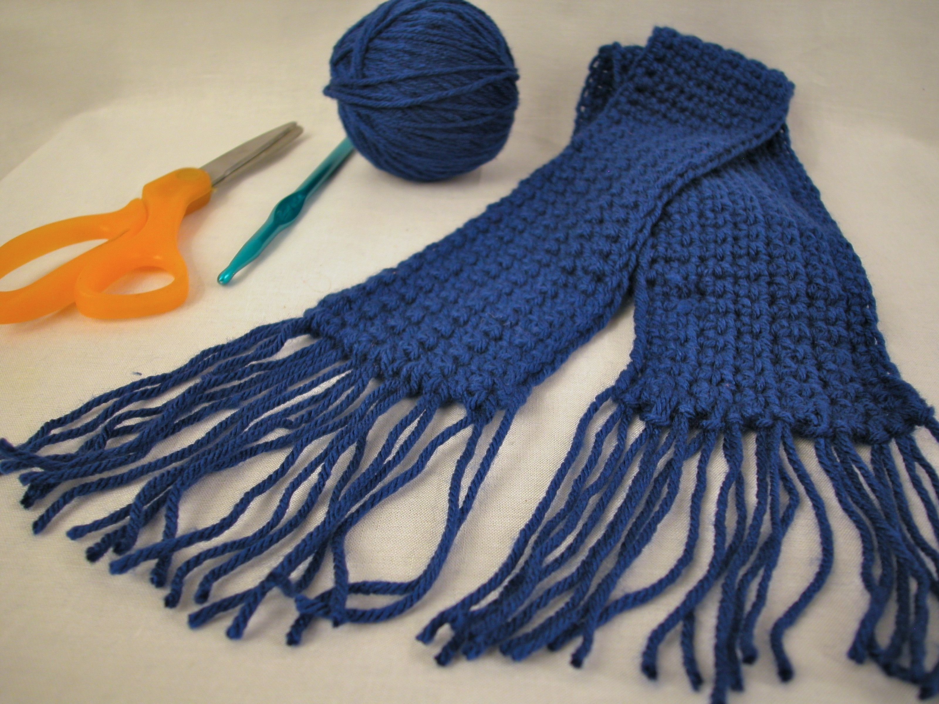 Lovely How to Crochet A Scarf Using Single Crochet 5 Steps Crochet A Shawl Of Innovative 48 Images Crochet A Shawl