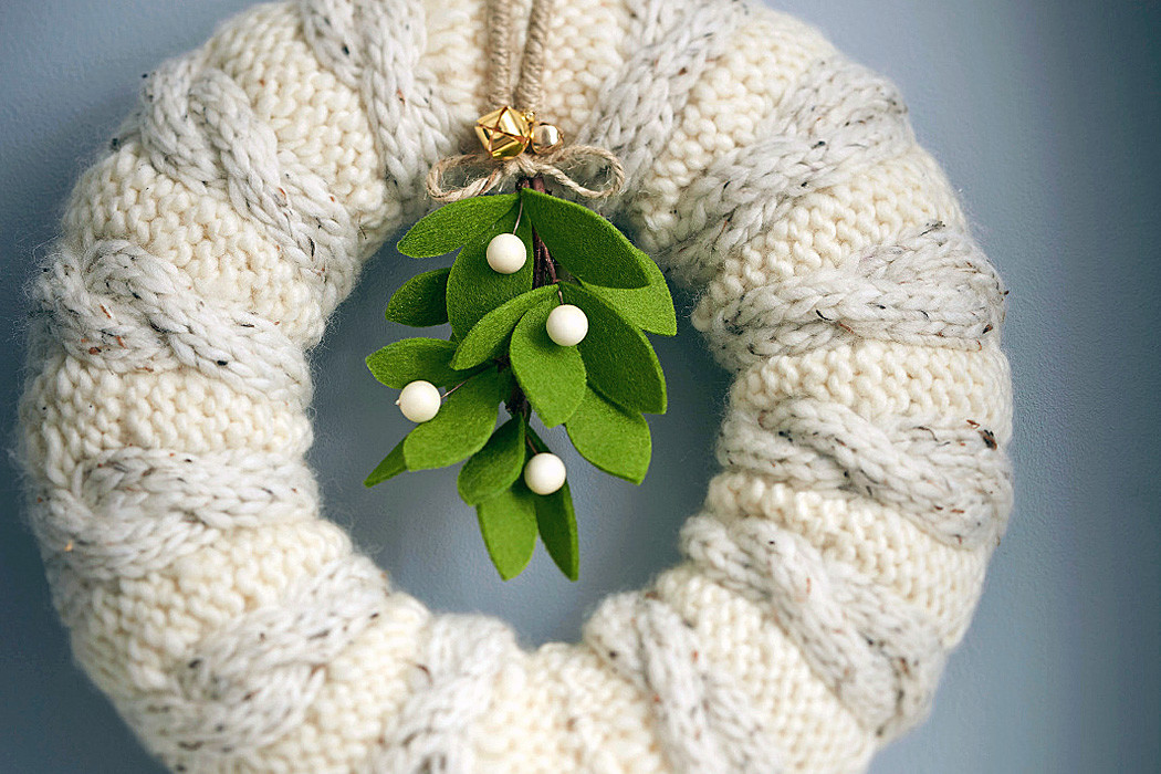Lovely How to Make A Knitted Wreath Hobbycraft Blog Knitting Crafts Of New 44 Models Knitting Crafts