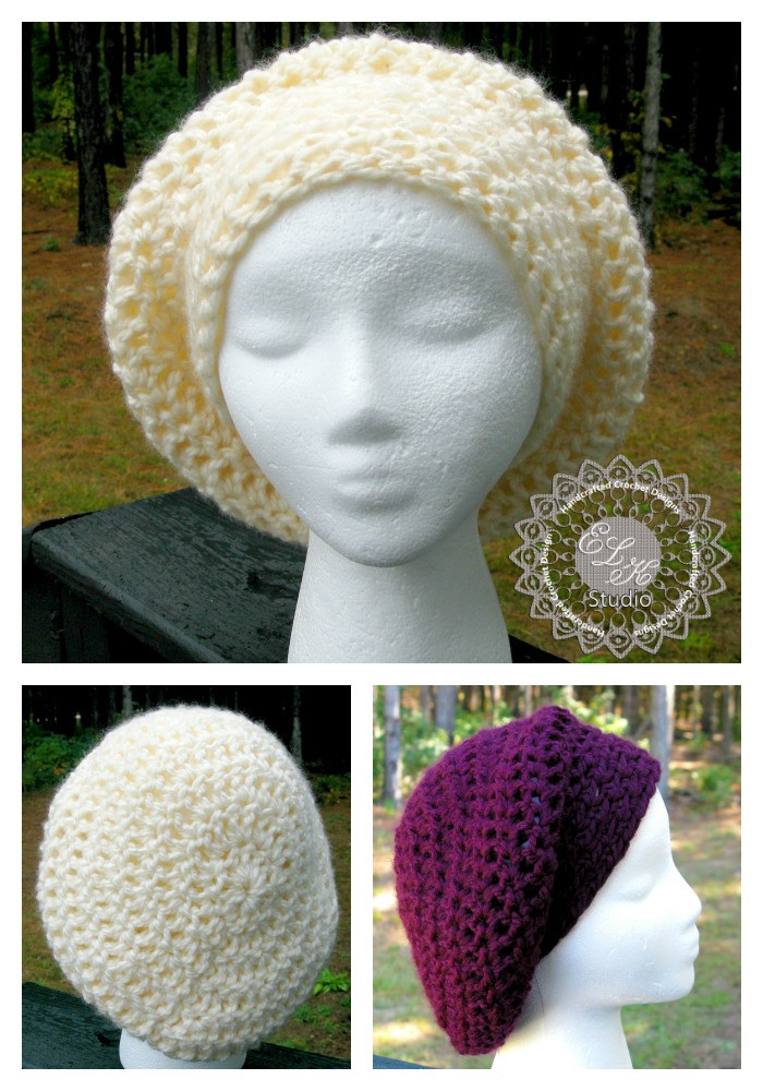 Lovely Incredibly Simple Slouchy Hat – Free Pattern Slouchy Beanie Crochet Pattern Free Of Awesome 45 Pics Slouchy Beanie Crochet Pattern Free