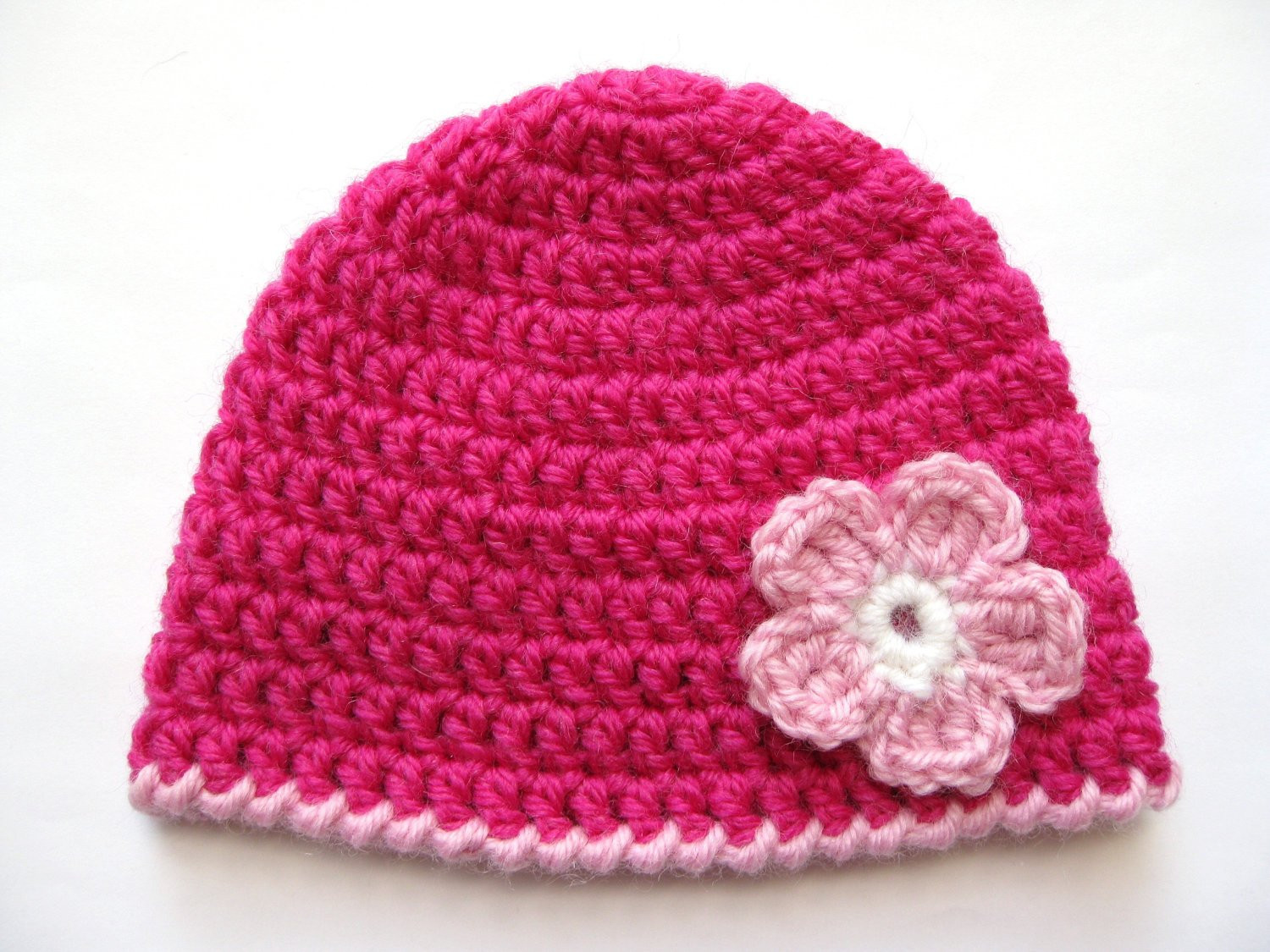 Lovely Instant Download Pattern Crochet Preemie Hat Crochet Pink Pink Crochet Hat Of Great 43 Models Pink Crochet Hat