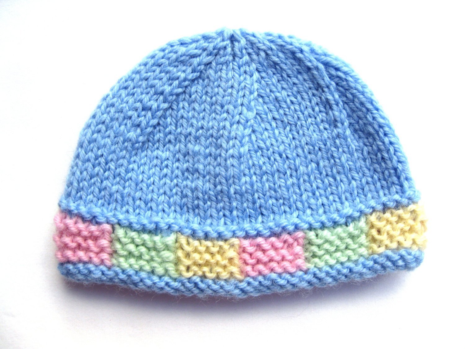 Lovely Instant Pattern Knit Preemie Hat with Colorful Garter Preemie Hat Pattern Of Incredible 41 Images Preemie Hat Pattern